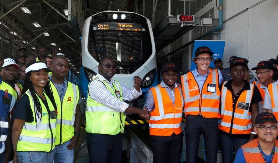 Alstom przekazał RPA pierwszy pociąg X'Trapolis Mega