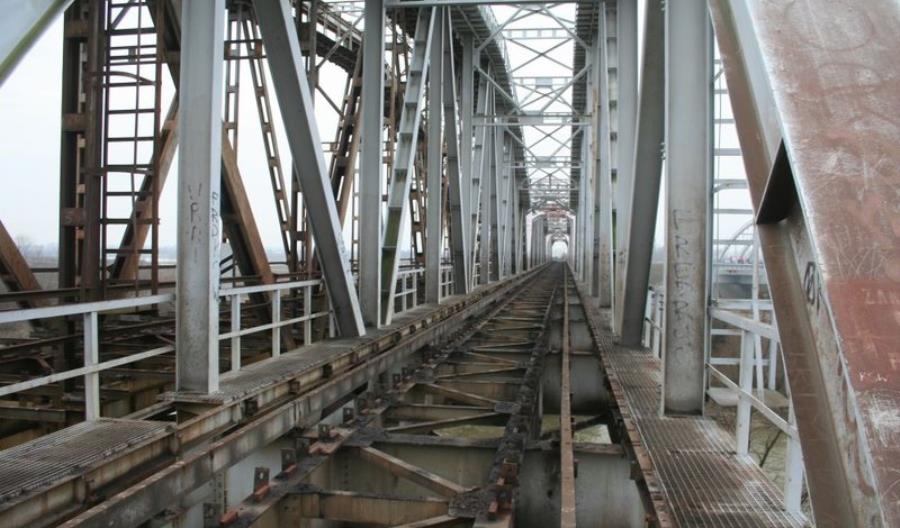 Fragmenty starej infrastruktury jako eksponaty