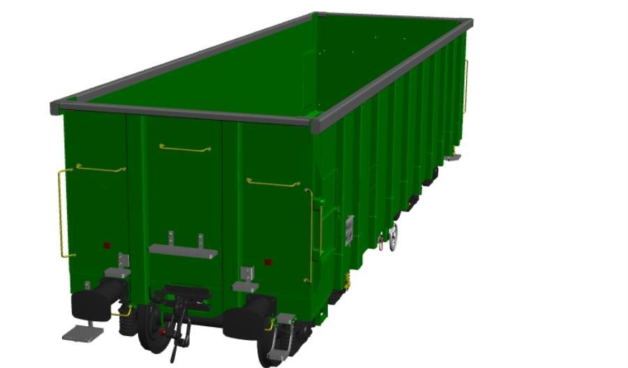 Lżejsze wagony do przewozu kruszyw