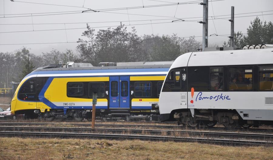 Pomorze nie planuje budowy jednej kolejowej spółki