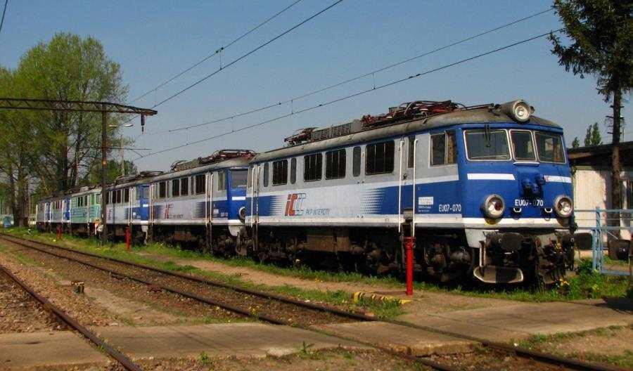 PKP Intercity rozstrzygnęło przetarg nanaprawy rewizyjne EU/EP07