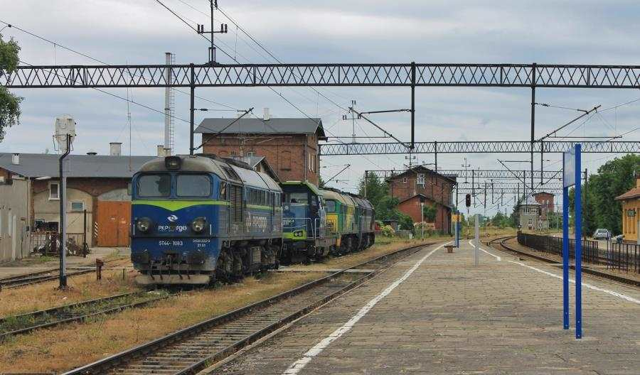 Lipiec bezpoprawy wwynikach przewozowych PKP Cargo