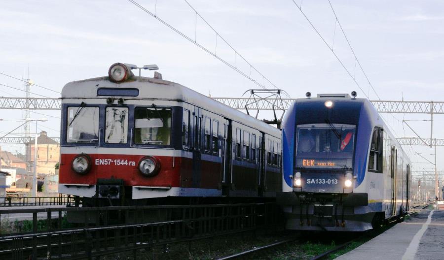 Pociągi wróciły na trasę Ełk – Giżycko. Koniec utrudnień po wykolejeniu cystern