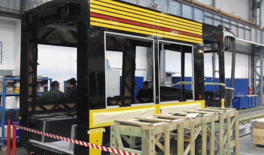 Produkcja tramwajów wPesie idzie napełnych obrotach