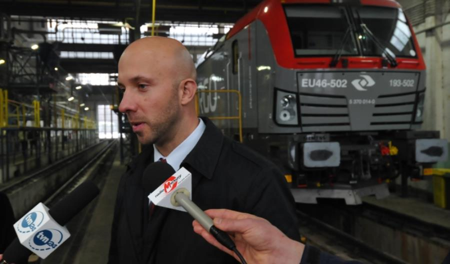 Wojciech Derda: Leasingowane przez PKP Cargo lokomotywy zastąpimy Vectronami