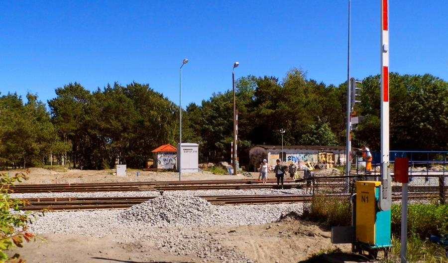 Odcięci, czyli remont stacji Hel