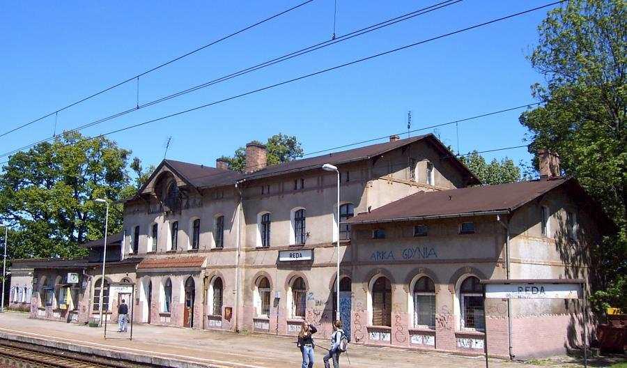 Rusza remont dworca kolejowego wRedzie