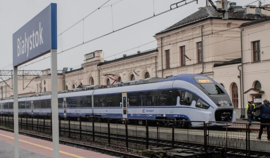PLK wydłuża czasy przejazdu pociągów PKP Intercity na linii Warszawa – Białystok