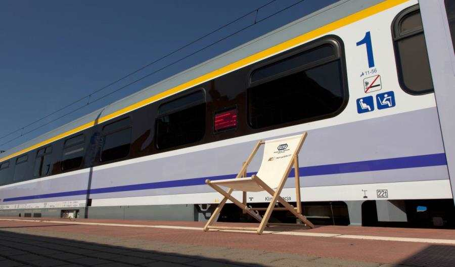 Jantar Bis - dodatkowy pociąg nad morze