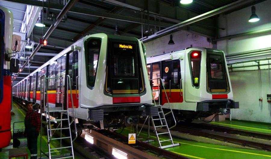 Metro: Jeżdżą wszystkie składy Inspiro. Od… 1,5 miesiąca