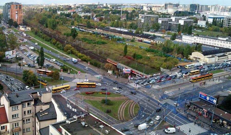 Tramwaje Warszawskie zmienią układ torów napl. Zawiszy