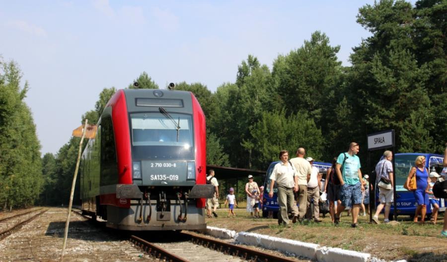 Pierwszy pociąg do Spały już w sobotę