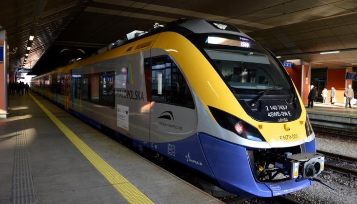 NIK kontroluje zarządzanie koleją w Małopolsce