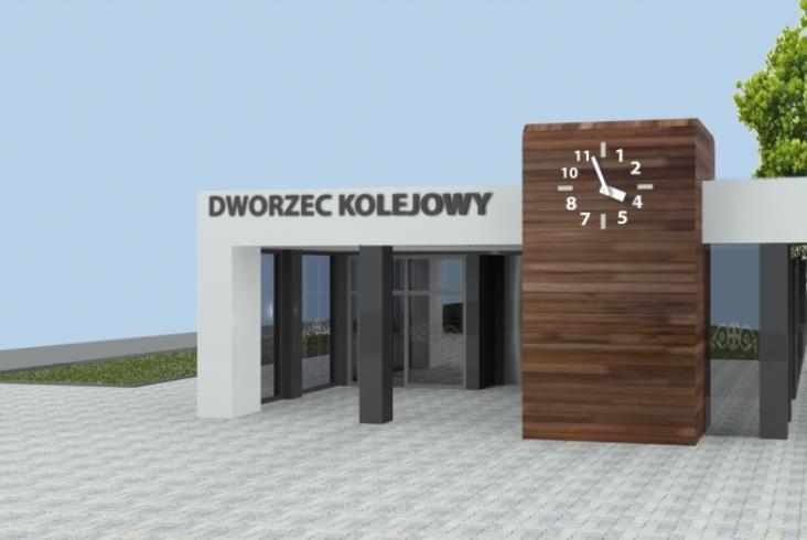Dworzec dla pasażerów i dla mieszkańców