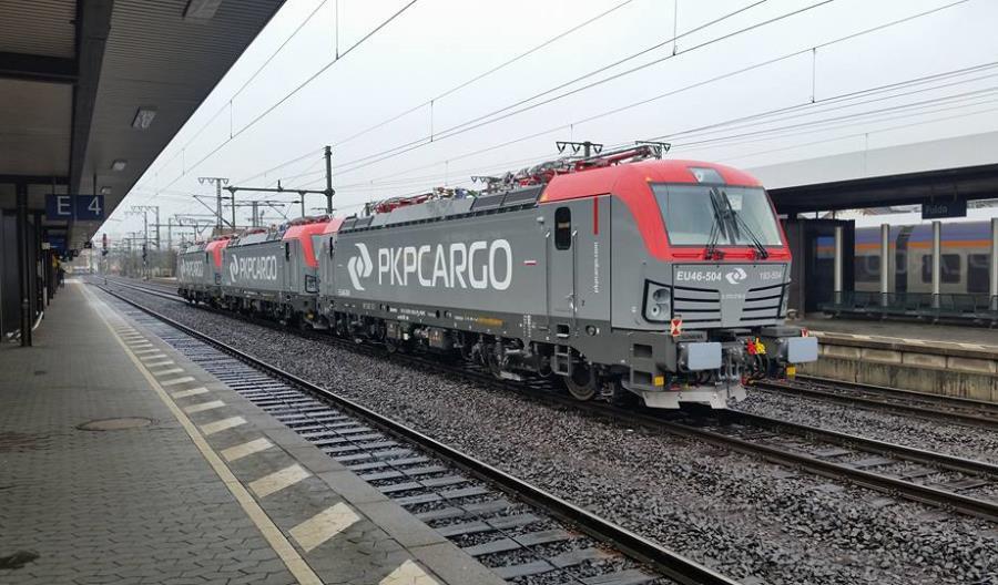 Kolejne trzy Vectrony dla PKP Cargo już w Polsce