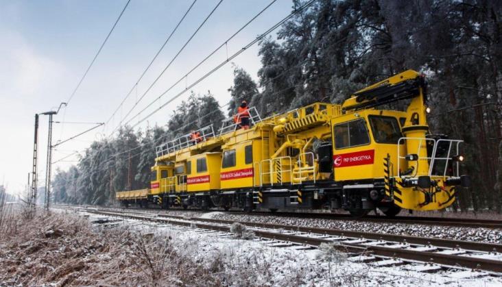 PKP Energetyka wyda 100 mln zł na tabor