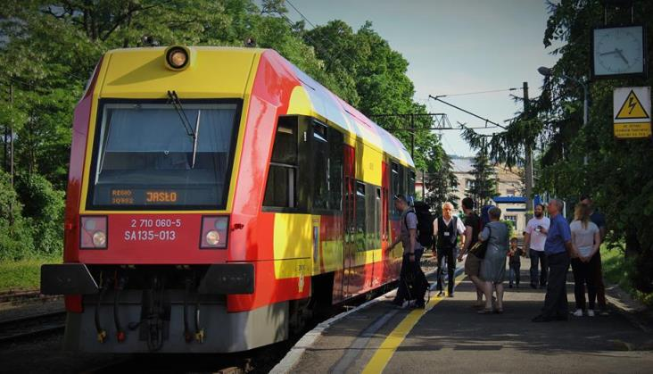 Podkarpackie: Jesteśmy zadowoleni z frekwencji w pociągach do Gorlic