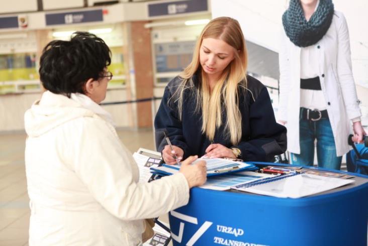 Dzień Pasażera w Częstochowie. UTK informował pasażerów i sam pytał