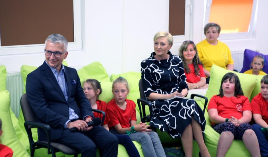 Pierwsza Dama i prezes UTK rozmawiali z dziećmi o bezpieczeństwie