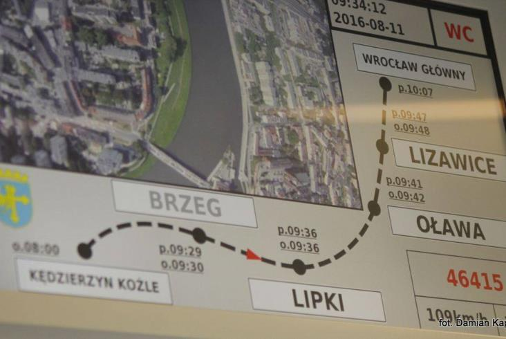Impuls dla Opolszczyzny na testach z pasażerami (zdjęcia)
