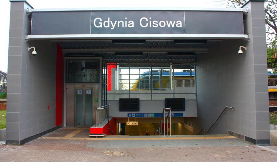 Wyremontowany przystanek Gdynia Cisowa [zdjęcia]