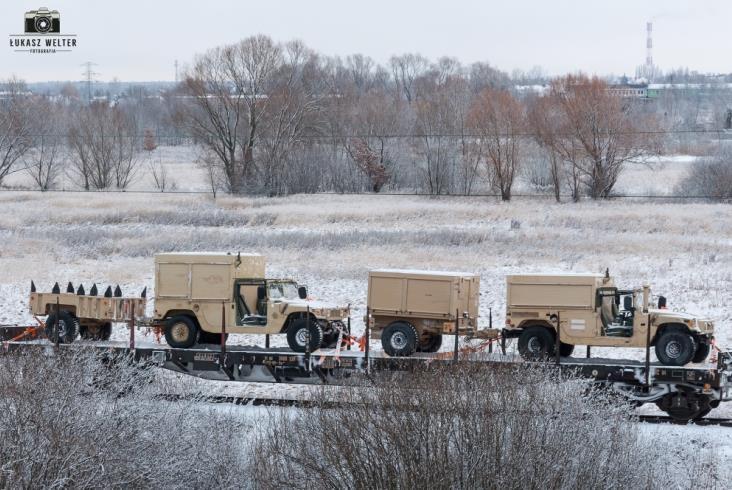US Army na polskich torach [nowe zdjęcia]