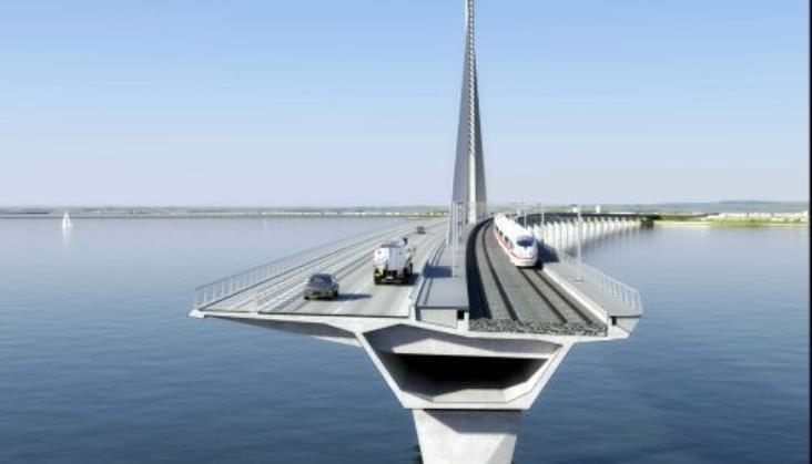 W Danii powstanie nowy most drogowo-kolejowy