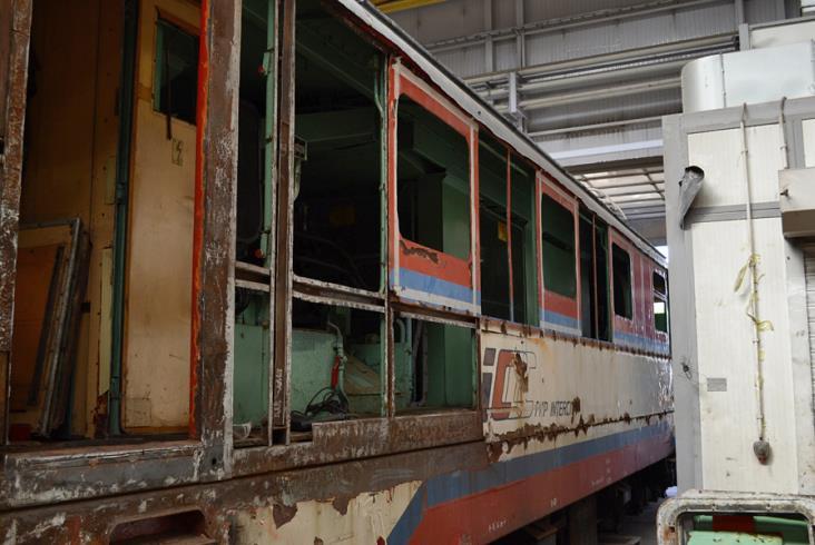 Remtrak rozpoczął renowację lokomotywy EP05-23
