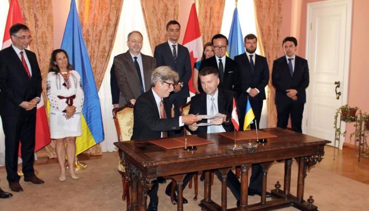 Bombardier będzie współpracował z Kolejami Ukraińskimi