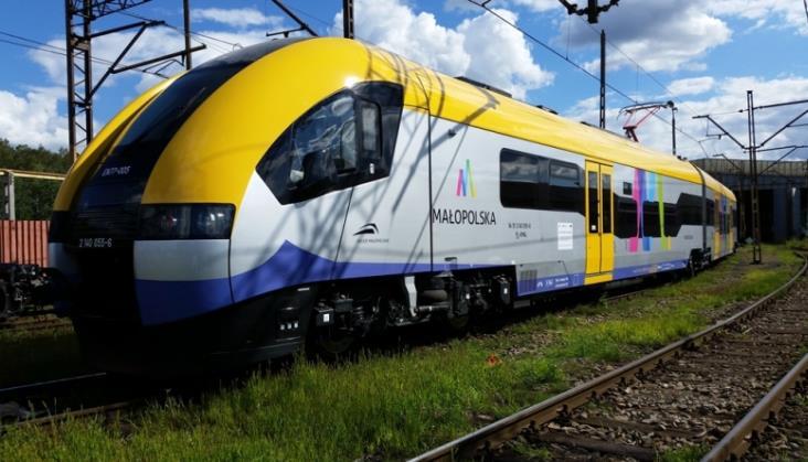Koleje Małopolskie przewożą więcej pasażerów