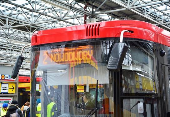 Warszawska sieć tramwajowa dłuższa o 1,5 km. Tramwaje dojechały na Nowodwory