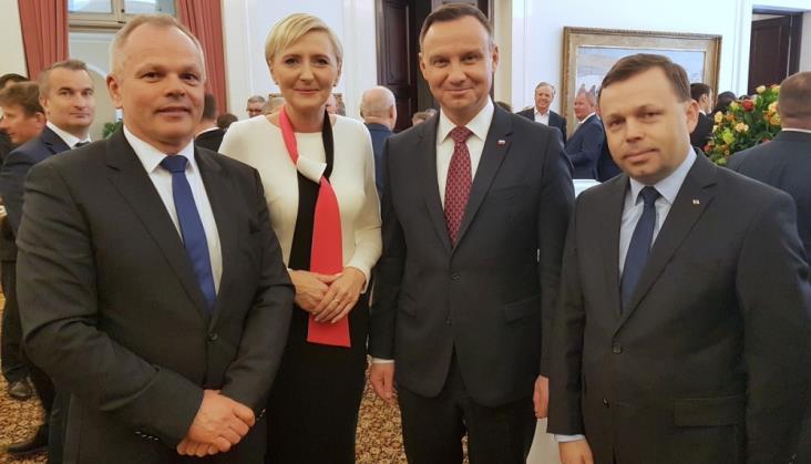 PKP Cargo, Newag i Pesa na spotkaniu u pary prezydenckiej