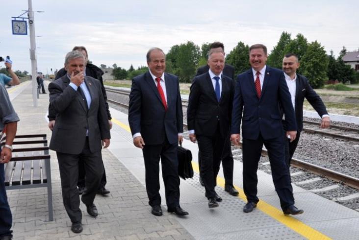 Tak Radzyń Podlaski cieszył się z powrotu pociągów [zdjęcia]