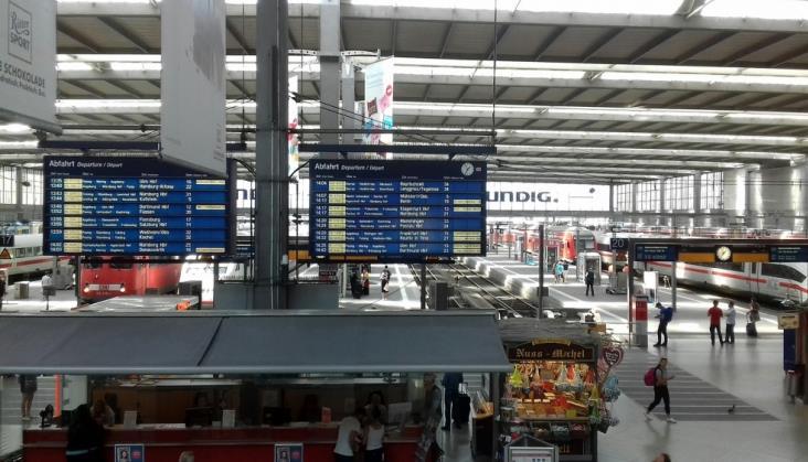 Seria podpaleń na kolei w Niemczech