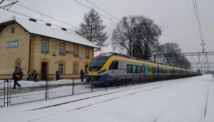 Od października powrócą pociągi z Krakowa do Czechowic-Dziedzic, Gorlic i Jasła
