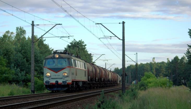 Pociągi towarowe w Polsce coraz szybsze