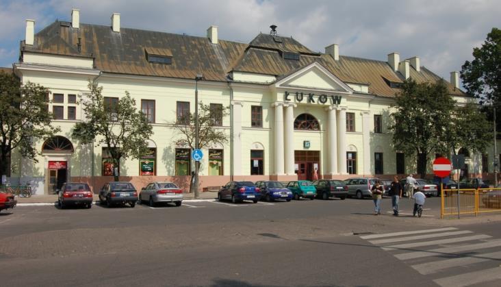 PKP SA przygotowuje modernizację dworca w Łukowie