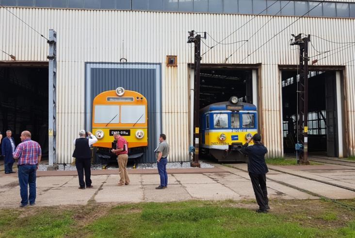 Czoło EW58 ozdobiło elektrowozownię PKP SKM Trójmiasto [zdjęcia]