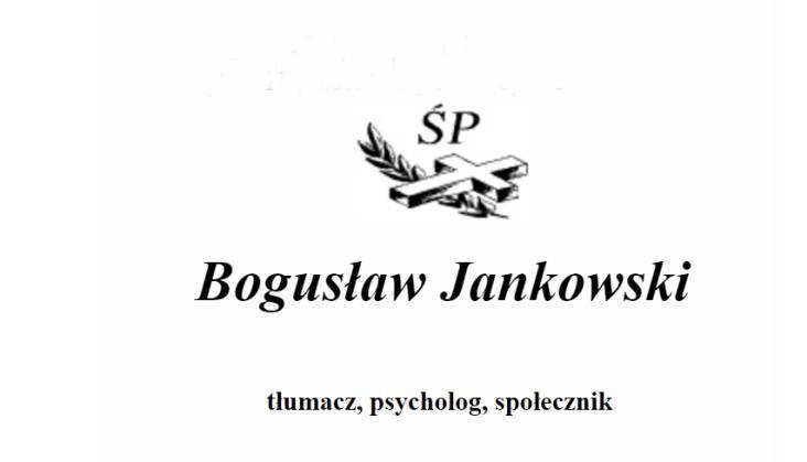 Zmarł Bogusław Jankowski