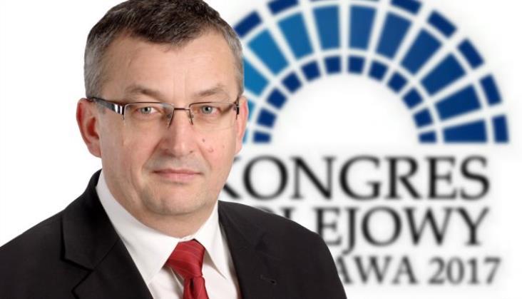 Minister Adamczyk na Kongresie Kolejowym 2017