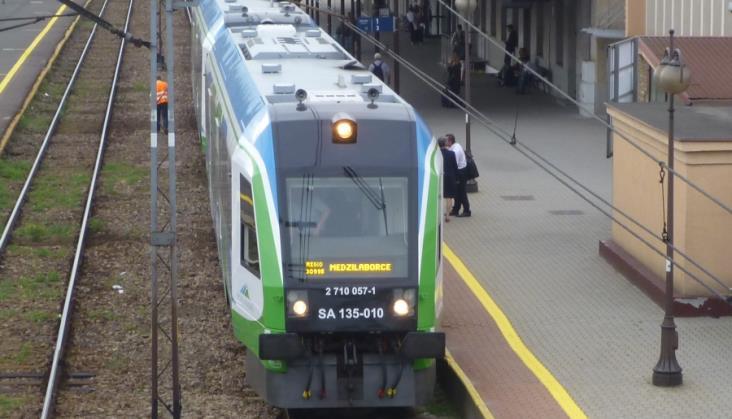 Podkarpackie sezonowe pociągi PolRegio na trasach
