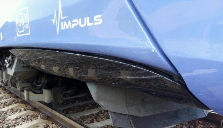 Wypadek na trasie Kolei Małopolskich