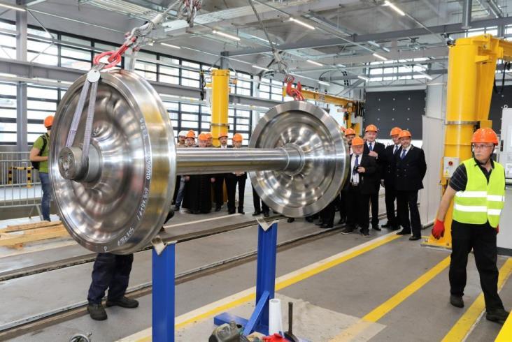 Grupa PKP Cargo ruszyła z produkcją zestawów kołowych