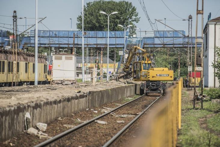 PLK: Prace na E20 trwają [zdjęcia]