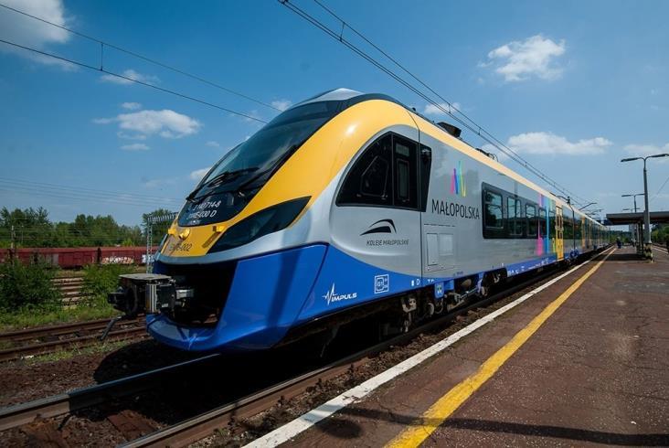 Koleje Małopolskie świętują 10-milionowego pasażera