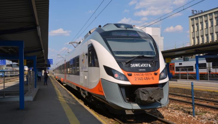 Wakacyjne pociągi do Sandomierza z sukcesem
