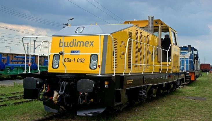 Lokomotywa 6Dh pracuje w Budimeksie