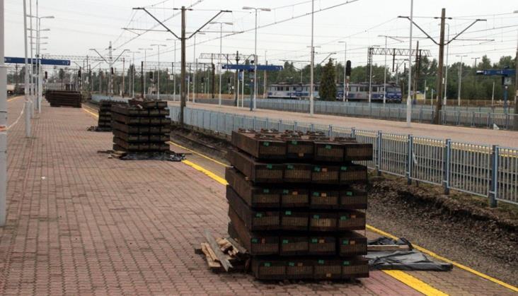 Łódź: Trwają roboty torowe na kilku stacjach