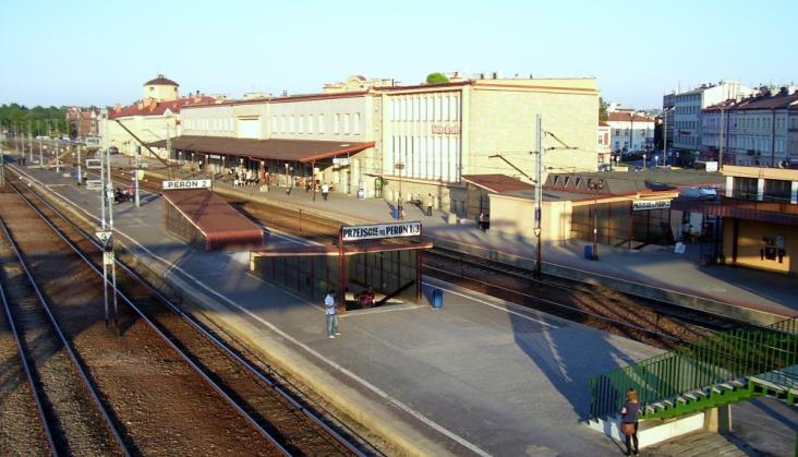Jedna oferta w kosztorysie na przebudowę stacji Rzeszów Główny