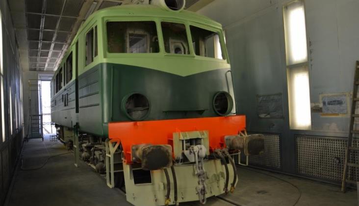 Lokomotywa ET41-186 z drugim życiem i w oryginalnym malowaniu